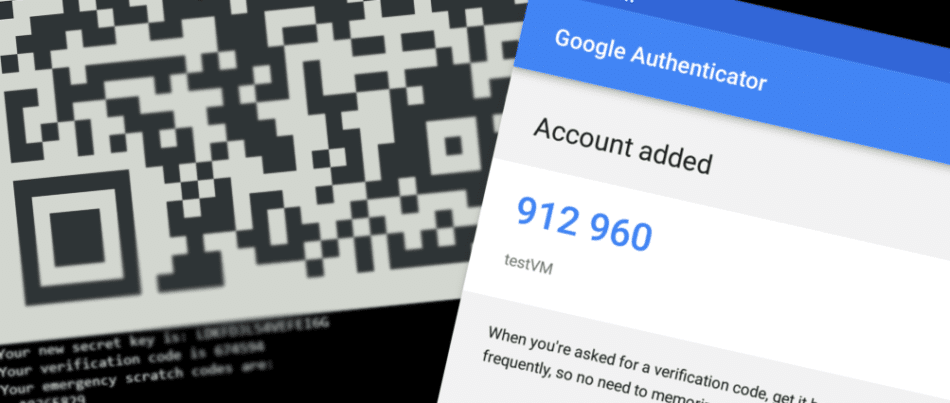 Linux and Google two factor authentication